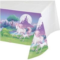 Unicorn Fantasy Plastic Table Cover