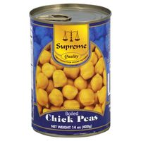 Supreme Star Chick Peas, Boiled