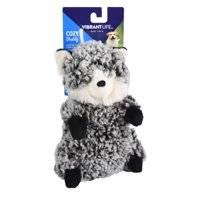 Vibrant Life Cozy Buddy Forest Critter Dog Toy, Chew Level 3