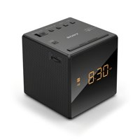Sony Non-CD Clock Radio, Black