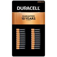 Duracell Alkaline AAA Batteries, 32 ct