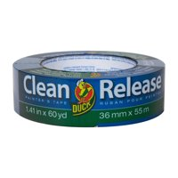 Duck Clean Release 1.41 in. x 60 yd. Blue Painter's Tape
