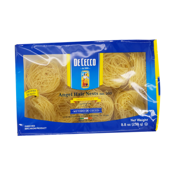 De cecco Angel Hair Nests, 8.8 oz