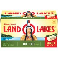 Land O' Lakes Sweet Cream Salted Butter, Half Sticks