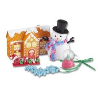 My Life As Holiday Decorations Set with Gingerbread House, Glitter Snow Globe, and More, 7 Pieces