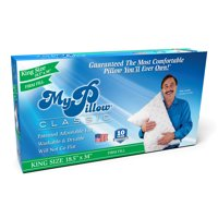 MyPillow Classic King Size Pillow, Firm or Medium Support