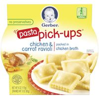 Gerber Pick-ups Ravioli Chicken & Carrot