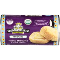 Immaculate Baking Co. Immaculate Baking Organic Biscuits Ready to Bake Flaky Biscuits 8 Count