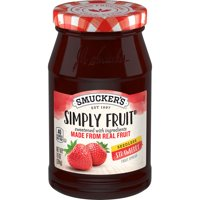 Smucker's Simply Fruit Strawberry Seedless Spreadable Fruit, 10-Ounce