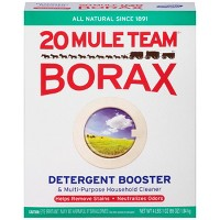 Mule Team Borax All Natural Detergent Booster & Multi-Purpose Household Cleaner 65 oz