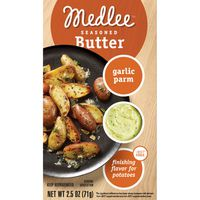 Medlee Butter, Seasoned, Garlic Parm
