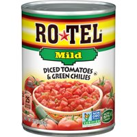RO*TEL Mild Diced Tomatoes and Green Chilies, 10 Ounce