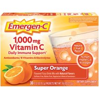 Emergen-C Original Formula (30 Ct, Super Orange) Vitamin C Powder