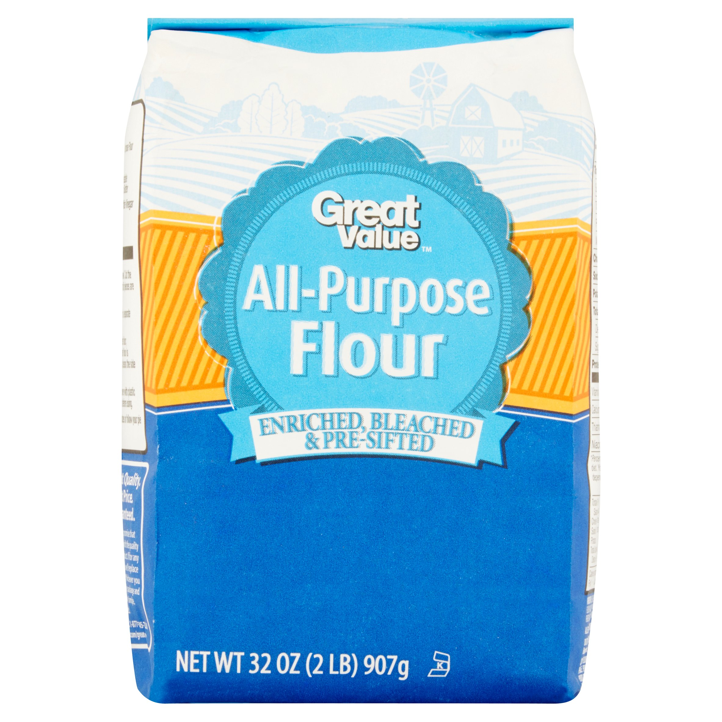 Great Value All-Purpose Flour, 32 oz