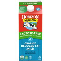 Horizon Organic Lactose-Free 2% Reduced-Fat Milk, Half Gallon