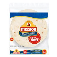 Mission Burrito Flour Tortillas, 8 Count