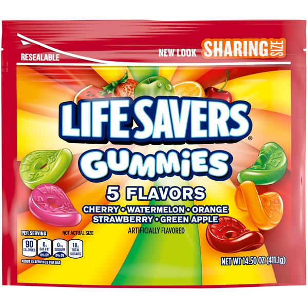 LifeSavers Gummies Flavors Candy Sharing Size