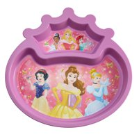 Disney Princess Toddler Plate Sectioned Plate