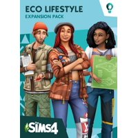 The Sims™ 4 Eco Lifestyle Expansion Pack, Electronic Arts, PC, 014633377880