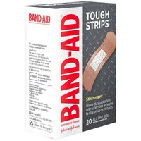 Band Aid Brand Adhesive Bandages Tough-Strips , All One Size