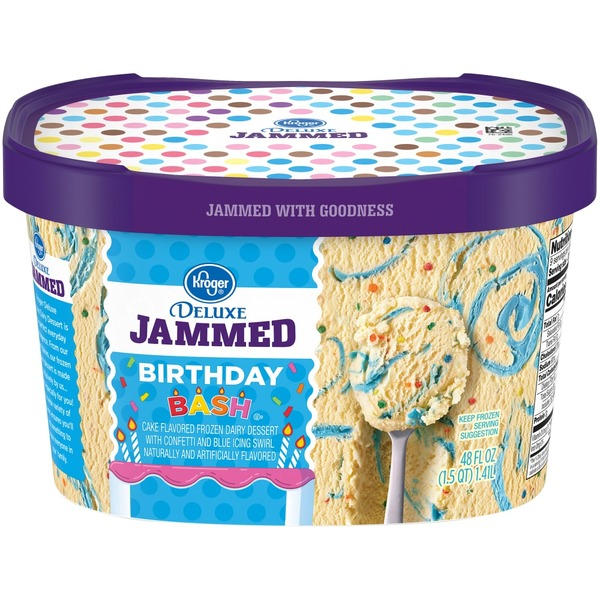 Superb Kroger Deluxe Jammed Birthday Bash Dairy Dessert From Kroger In Birthday Cards Printable Opercafe Filternl