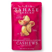Sahale Snacks Pomegranate Vanilla Flavored Cashews - 4oz