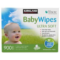 Kirkland Signature Baby Wipes, 900 ct