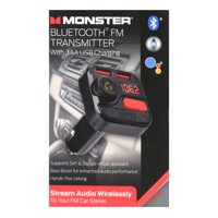 Monster Bluetooth FM Transmitter with 3.4A USB Charging
