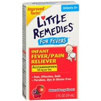 Little Remedies Infant Fever Pain Reliever, Berry Flavor, 2 oz