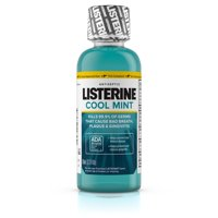 Listerine Cool Mint Antiseptic Mouthwash for Bad Breath, 3.2 oz