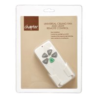 Chapter Universal Ceiling Fan and Light Remote Control
