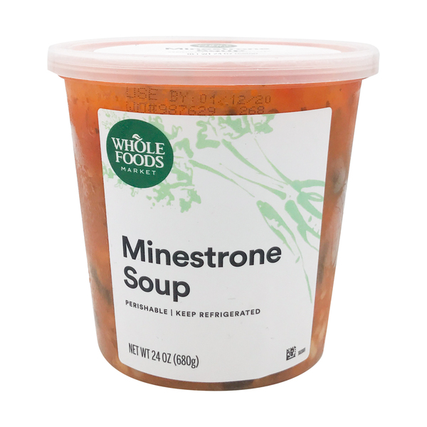 Whole foods market™ Minestrone Soup, 24 oz