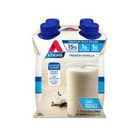 Atkins Nutritional Shake - French Vanilla - 4ct