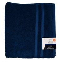 "Mainstays Performance Solid Bath Towel, 54"" x 30"", Baltic Sea"