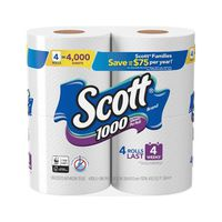Scott 1000 Sheets Per Roll Toilet Paper