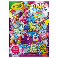 Crayola LLC Uni-Creatures Coloring Book