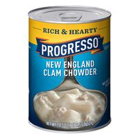 Progresso Soup, New England Clam Chowder, Rich & Hearty