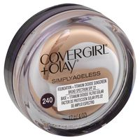CoverGirl Simply Ageless Instant Wrinkle Defying Foundation, Natural Beige, Female Cosmetics