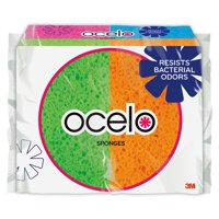 Scotch-Brite ocelo StayFresh Handy Size Sponges, 6 Sponges Per Pack