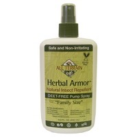 8oz Natural Insect Repellent Pump Spray - Herbal Armor