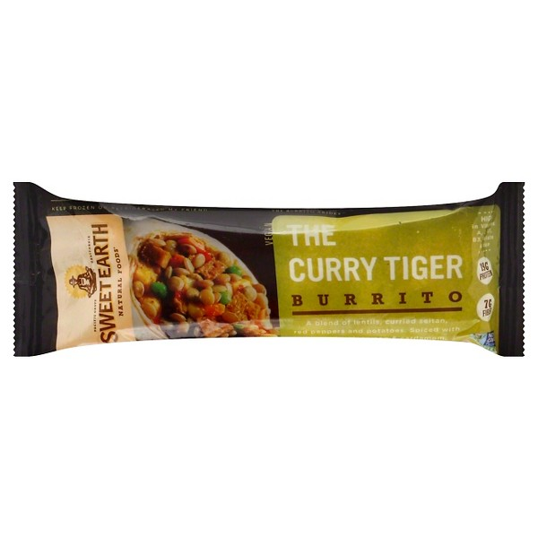Sweet Earth The Curry Tiger Frozen Burrito - 7oz
