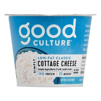 Good Culture 2% Milkfat Classic Cottage Cheese - 5.3oz