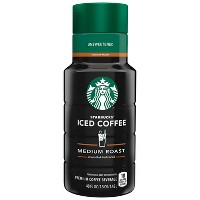 Starbucks Unsweetened Medium Roast Iced Coffee - 48 fl oz