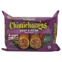 Las Campanas Chimichangas, Beef & Bean, Family Pack