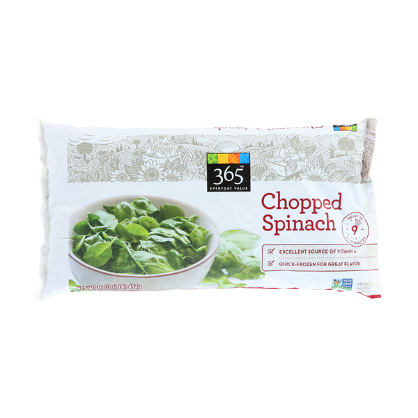 365 everyday value® Chopped Frozen Spinach, 16 oz