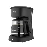 Mr. Coffee 12 Cup Switch Coffee Maker, Black