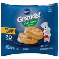 Pillsbury Grands! Flaky Layers Biscuits Value Pack, 20 Ct, 37.4 oz