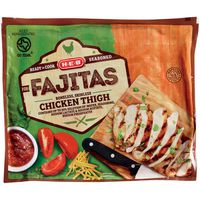 H-E-B Boneless Skinless Seasoned Chicken Thighs For Fajitas