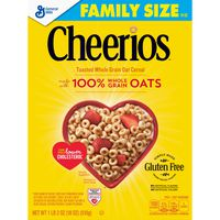 Cheerios Gluten Free, Cereal with Whole Grain Oats