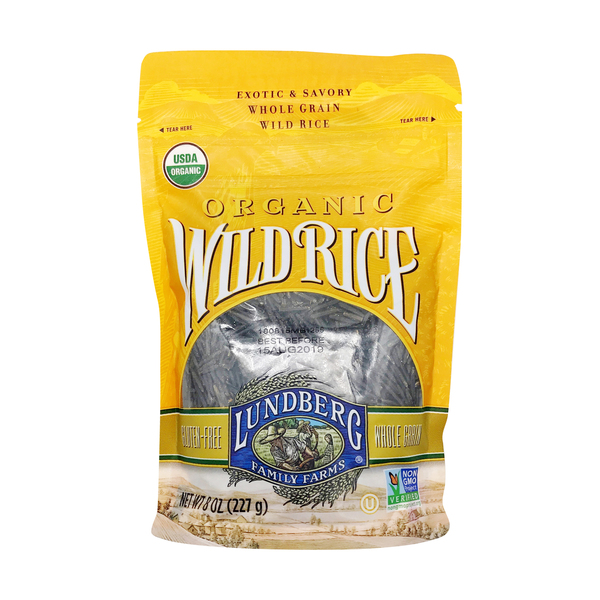 Lundberg family farms Organic Wild Rice, 8 oz